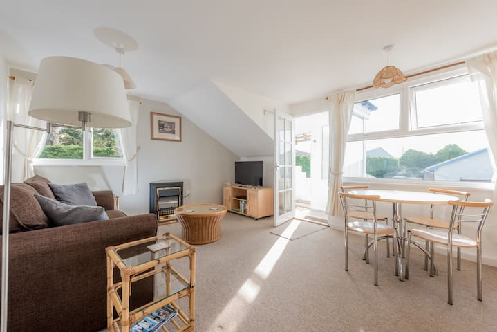 Smart one bedroom flat in Rock Cornwall - Saint Minver - Daire
