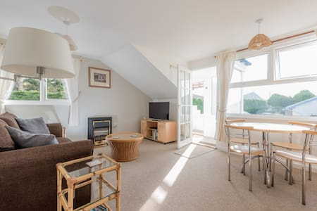 Smart one bedroom flat in Rock Cornwall - Saint Minver - Lejlighed