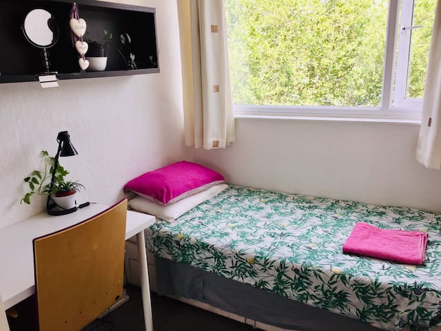 Basic cosy single room near the centre