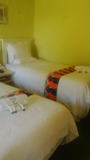 Deluxe Twin Room with 1double and 3/4 bed sleep 3