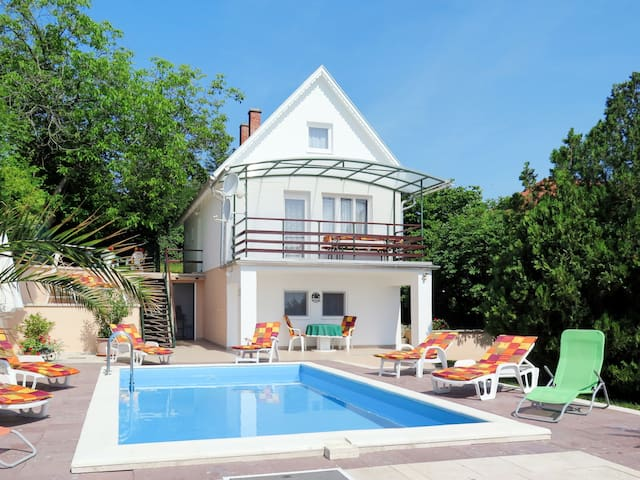 Holiday home in Balatonalmadi for 8 persons