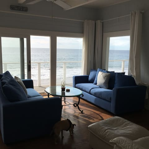 Affordable Malibu Lifestyle Cottage on the Beach