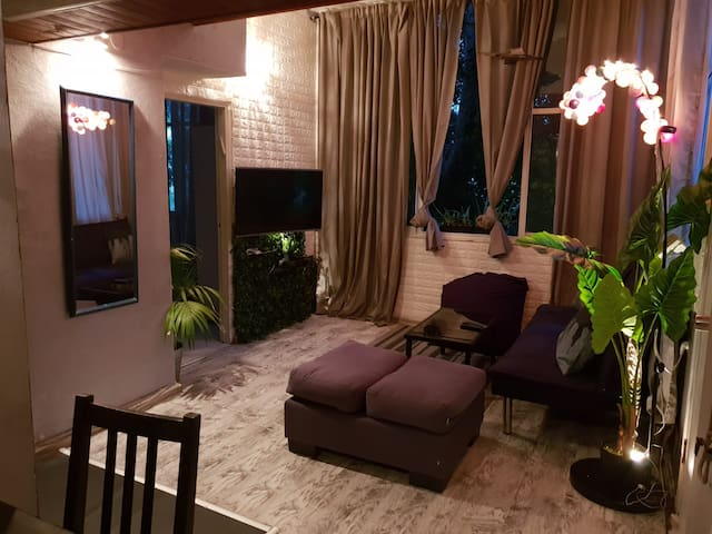 2 BR Garden View Apartment on the Beach