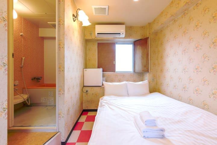 10㎡ Simple Room w/Bath 1min JR Ikebukuro C1 EXIT