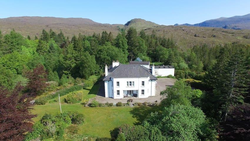 Large West Coast Highland Estate - Highland - Casa