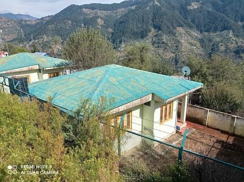 Twin Sister Huts !   Rejuvenate in Himalayas !