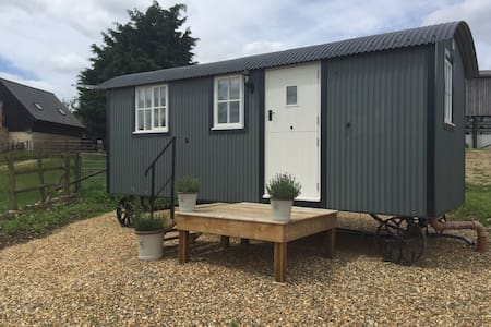 OUR AMAZING SHEPHERDS HUT
