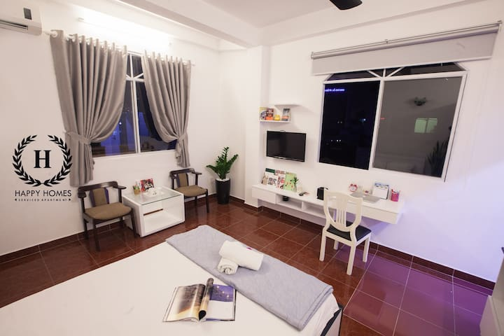 A Charm Studio In The Center - Cô Giang - Appartement