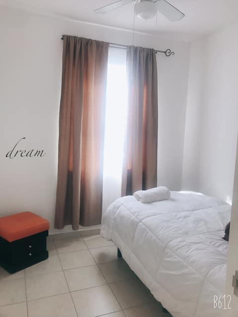 Casa Angel WiFi comodidad en estancia corta-office