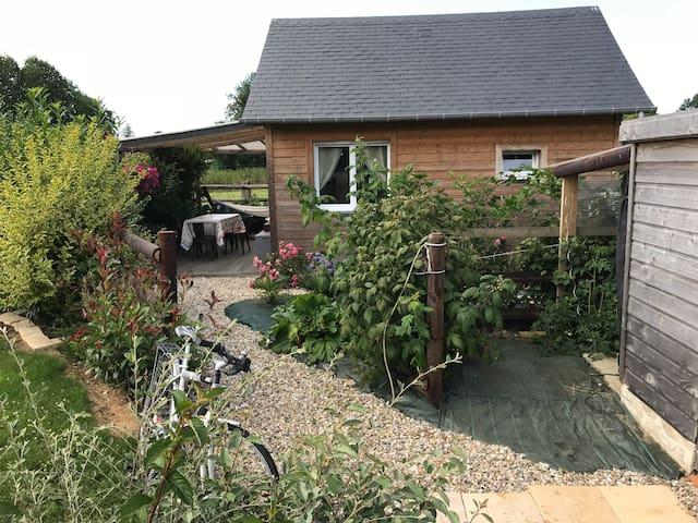 Cottage proche au calme proche de Deauville.