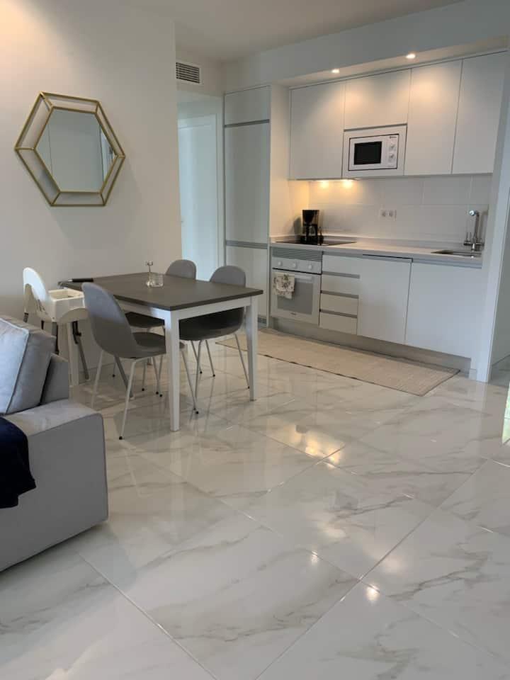 Fantastisk nyproducerat 4 rums hus, 55kvm terrass