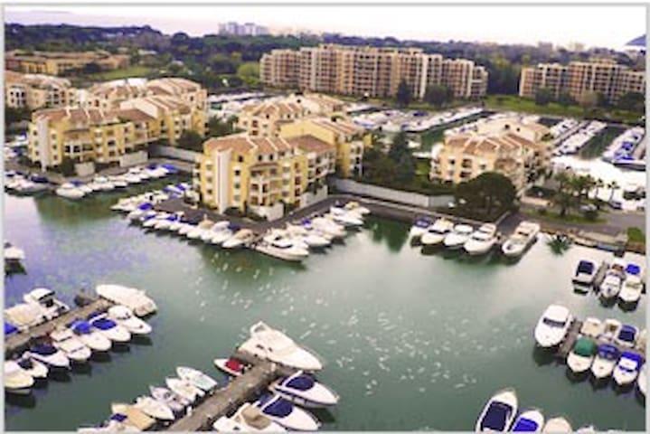 Vos Vacances dans la résidence privé Cannes Marina
