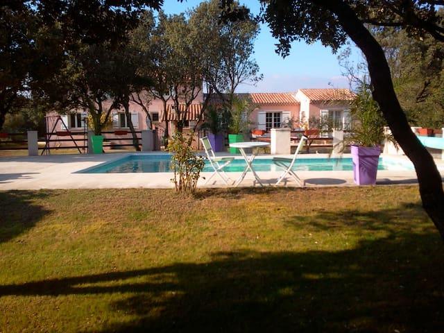 Villa le PANORAMA avec piscine en Drome provençale - Chamaret - Villa