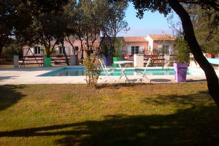 Villa avec piscine en Drome provençale - Chamaret