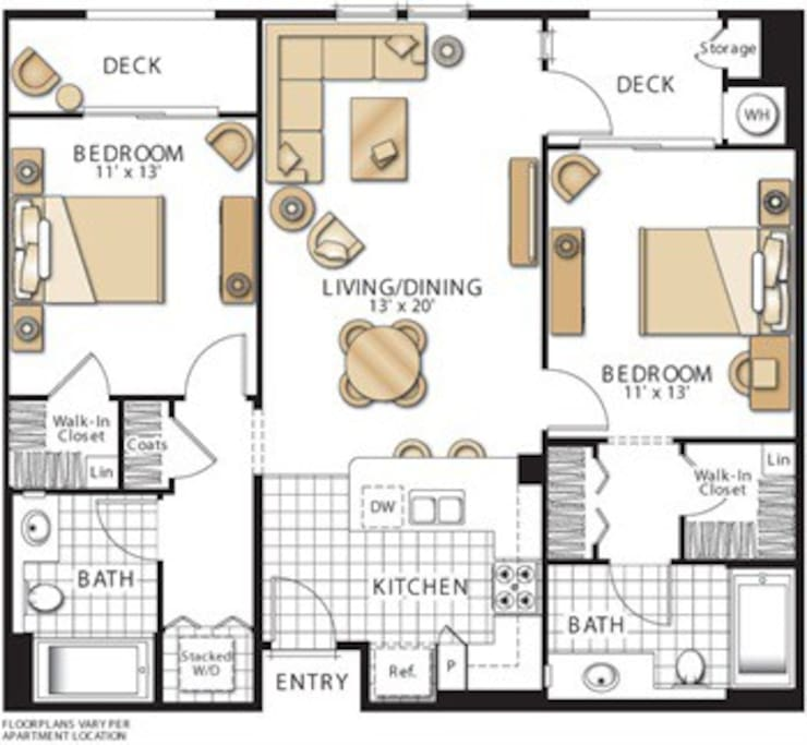 Apartment Layout!
