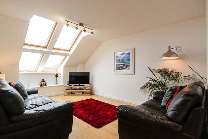 Beautiful luxury apartment in Oban town centre - Oban - Wohnung