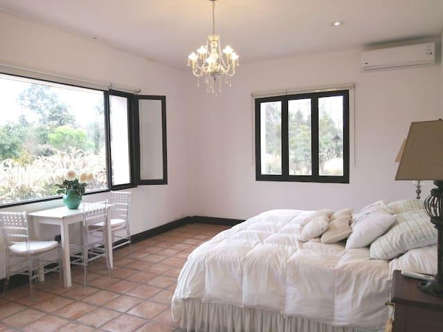 Habitación Full confort, lujo y naturaleza