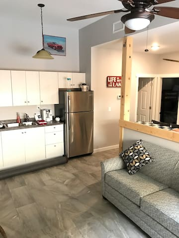 Lots of Room in the Kitchen and Living area