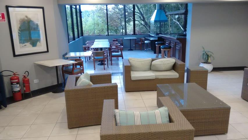 Lounge/Salão de festas, churrasqueira gourmet