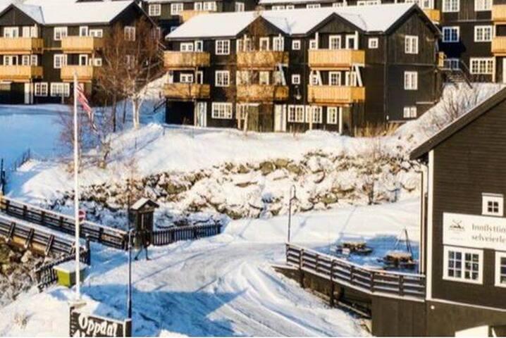 Leilighet i Stølen ski in ski out.