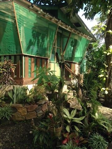 screened porch/kitchenette