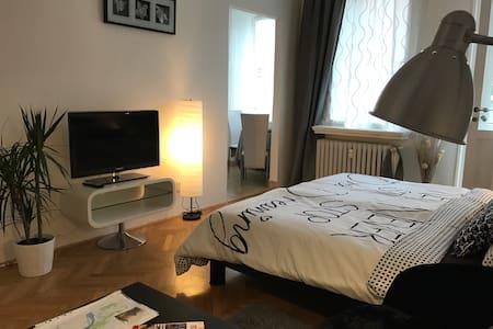5 min centre - apartment VLTAVSKÁ I - Praha - Lägenhet