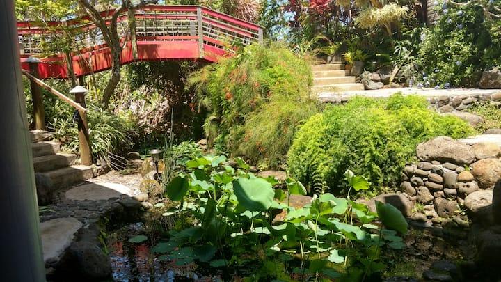 Asia House, Koi Grotto, Princeville, Kauai