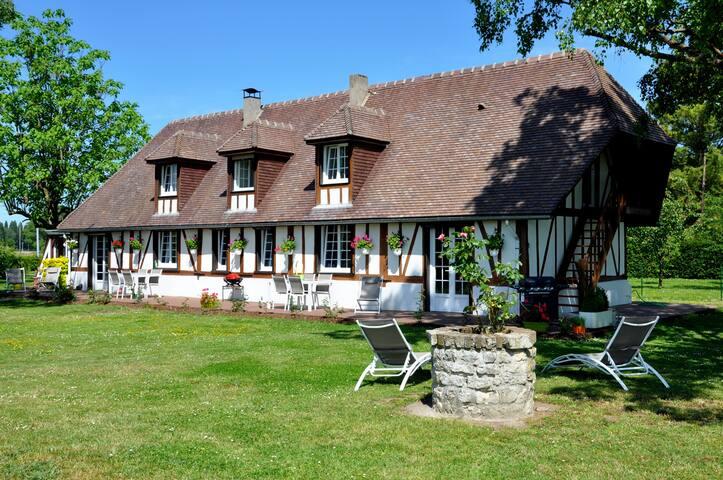 Très belle maison normande, Calme du bord de seine