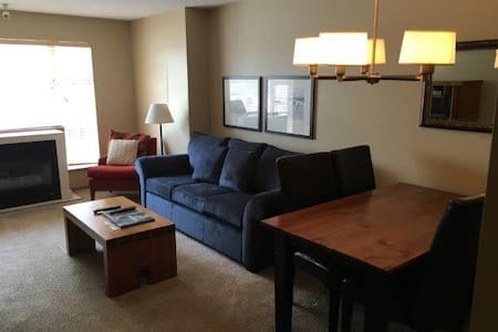 Cozy studio steps from Blackcomb base - Whistler - Kondominium