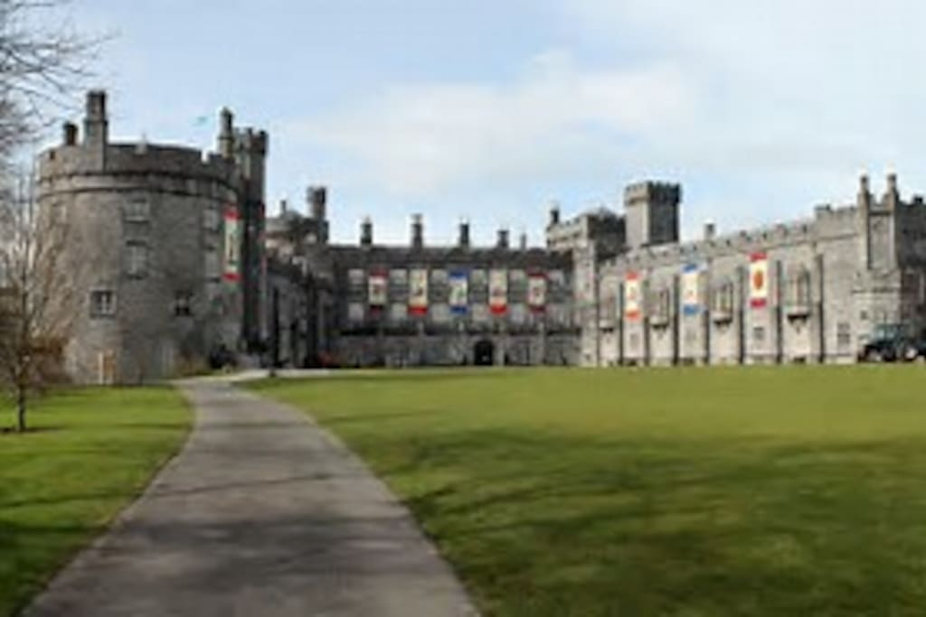 minutes from kilkenny castle