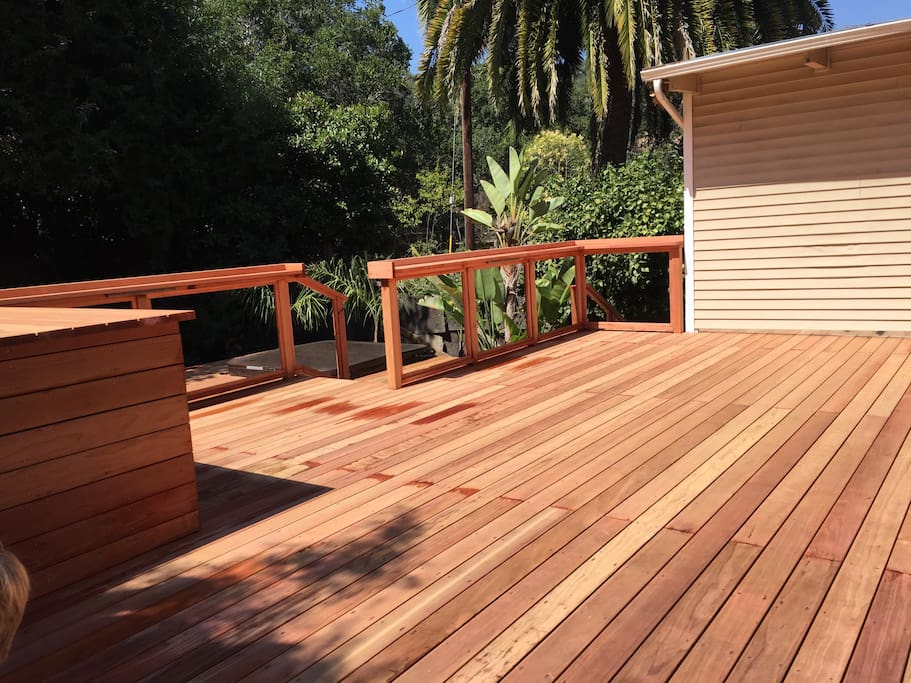 Deck/backyard