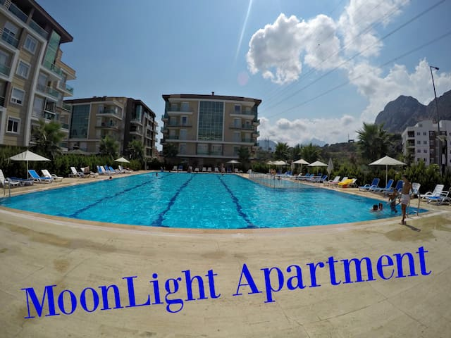 Moonlight Apartment 2+1, in 5 ***** Komplex - Konyaaltı - Apartment