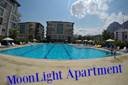 Moonlight Apartment 2+1, in 5 ***** Komplex - Konyaaltı - アパート
