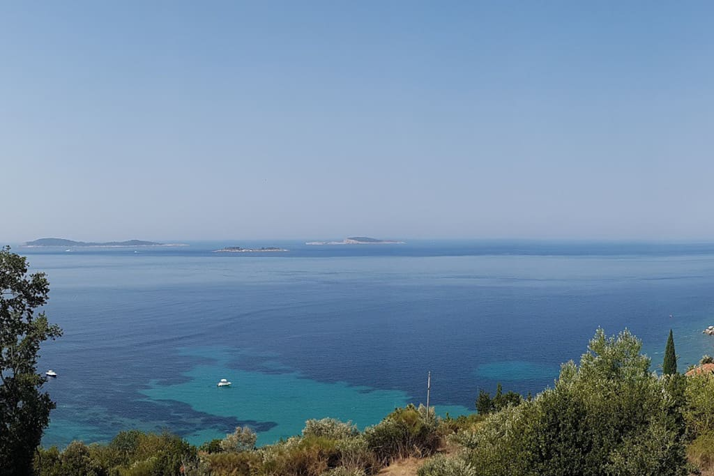 Great view, and quite place, 5 beaches in 1km distance