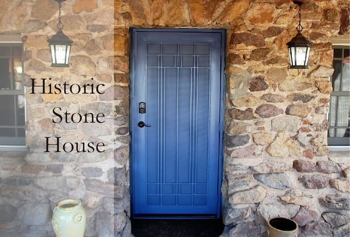 Historic Stone House in the heart of the city