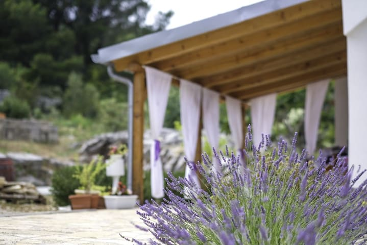 Lavanda - Holiday Home with Terrace and Sea View