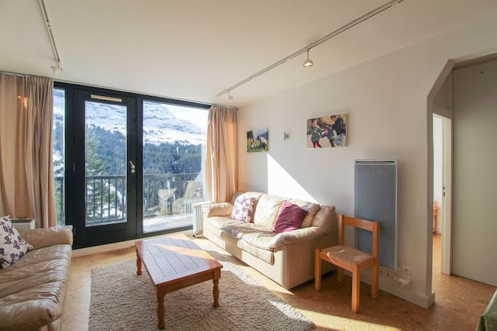 Lovely apartment at the foot of the pistes