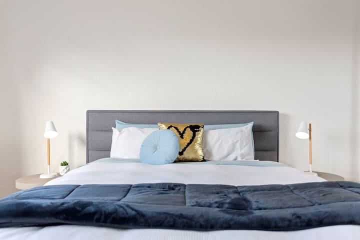 Bedroom 1 -King Bed