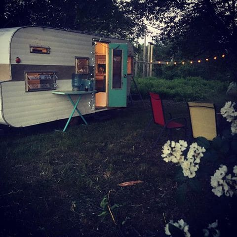 Vintage Camper on Organic Farm - Monroe