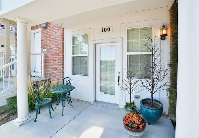 Cute Patio and Main Level Living