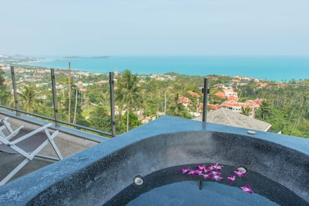 Studio lilou/jacuzzy/sea view  - Ko Samui - Apartment