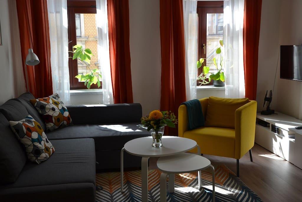 gem tliche 2 zimmer im szeneviertel dd neustadt wohnungen zur miete in dresden sachsen. Black Bedroom Furniture Sets. Home Design Ideas