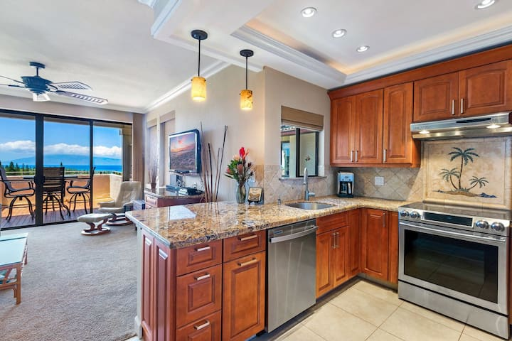 April 20 to 23 $209 / Top Row OCEAN VIEWS ~PLATINUM Maui Vacations~ Relaxed Cancel ~Clean w/ gaps between