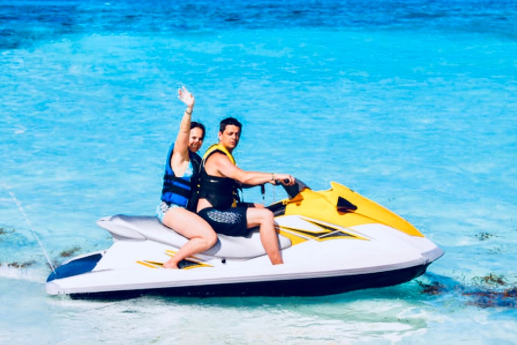 near the place you will find recreational water activities and sports