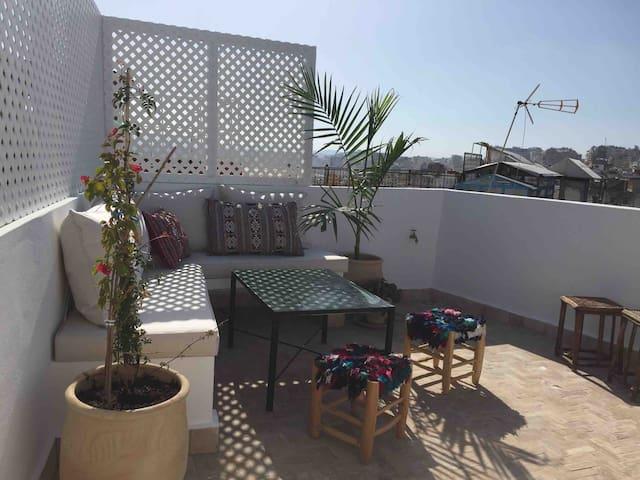 Dar Stitoua, une petite maison dans la Kasbah