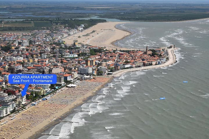 Apartment with seaview on the beach - Caorle - Huoneisto