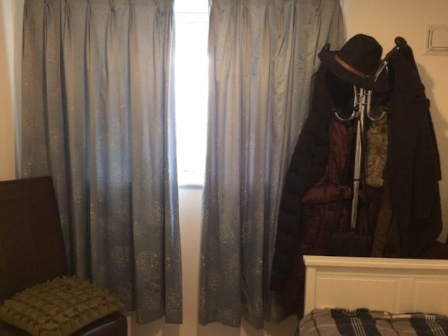 Coat-stand in Bedroom