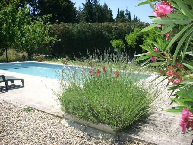 Villa entre St-Rémy de Provence et Avignon. - Saint-Andiol - Casa