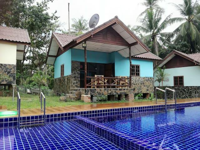 House with pool close to the beach - Ko Pha Ngan - House