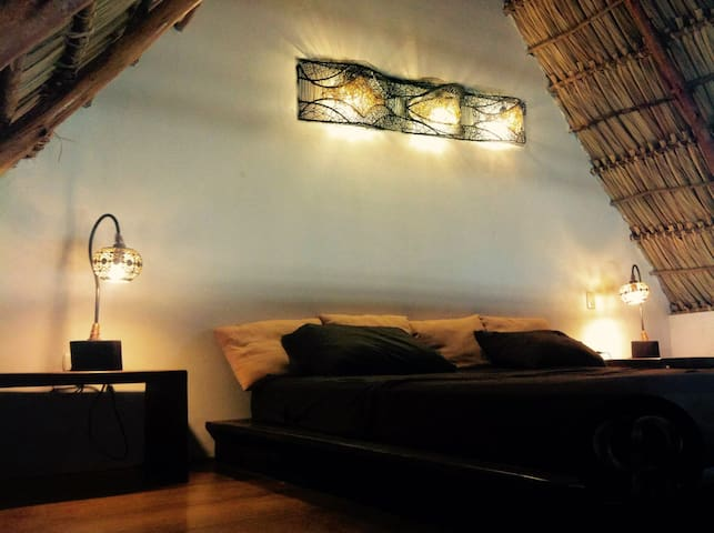 Vibra GuestHouse Popoyo. - Playa Guasacate, Tola - Bed & Breakfast